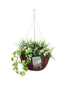 smart-garden-easy-artificial-30-cm-hanging-basket-with-pink-and-white-flowers