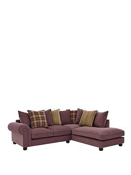 Orkney Right Hand Fabric Corner Chaise Sofa