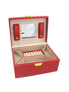 red-patent-faux-leather-lockable-jewellery-case