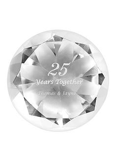 personalised-anniversary-crystal-paperweight