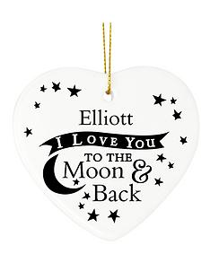personalised-to-the-moon-and-back-ceramic-heart-decoration