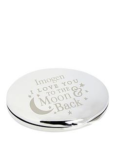 personalised-to-the-moon-and-back-round-compact-mirror