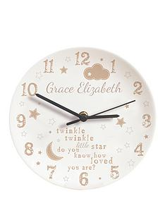 personalised-twinkle-twinkle-clock