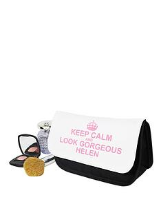 personalised-keep-calm-cosmetics-bag