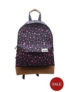 lonsdale-star-pink-backpack