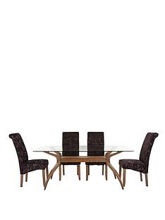 knox-180-cm-dining-table-4-floral-fabric-brook-chairs