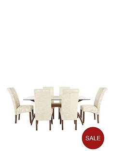 knox-dining-table-6-brook-floral-fabric-chairs