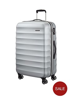 american-tourister-palm-valley-spinner-77-cm-large-case-metallic-silver