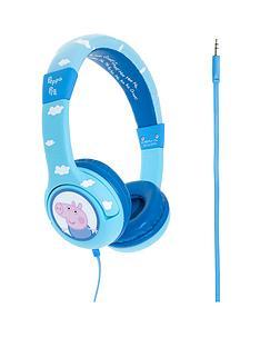 peppa-pig-george-clouds-junior-headphones-blue