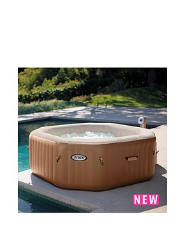 intex intex pure spa bubble therapy hot tub. Black Bedroom Furniture Sets. Home Design Ideas