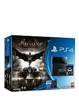 500GB Console with Batman: Arkham Knight and Optional 12 Months PlayStation Plus or Batman Gaming Headset