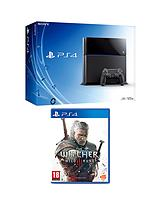 500GB Console + The Witcher 3: Wild Hunt
