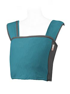 close-parent-caboo-and-organic-baby-carrier