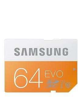 Samsung 64Gb Evo Sd Memory Card