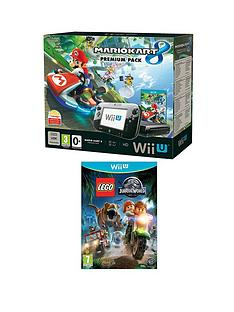 nintendo-wii-u-mario-kart-8-hard-bundle-with-lego-jurrassic-world