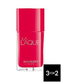 bourjois-la-laque-flambant-rose-free-bourjois-cosmetic-bag