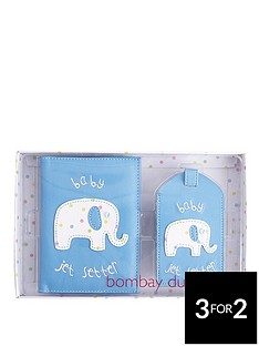 bombay-duck-blue-baby-jet-setter-passport-cover-and-luggage-tag-gift-set