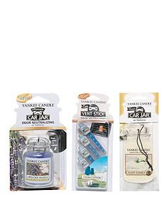 yankee-candle-car-jar-ultimate-single-car-jar-vent-stick-variety-set-3-piece-set