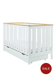 obaby-york-cot-bed-and-under-drawer