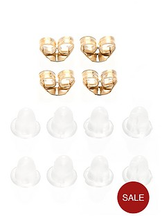 love-gold-9-carat-gold-set-of-four-earring-backs