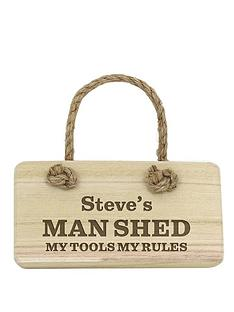 personalised-man-shed-wooden-sign