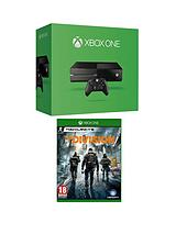 Console (No Kinect) with The Division and Optional 12 Months Xbox Live