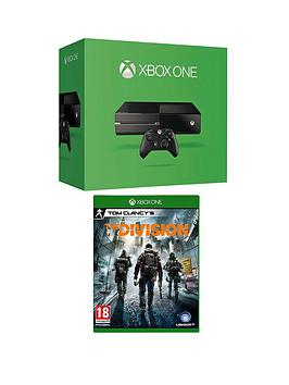 xbox-one-console-no-kinect-with-the-division-and-optional-12-months-xbox-live