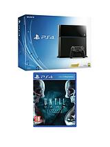 500Gb Console with Until Dawn with Optional 12 Months Playstation Plus or Dual Shock 4 Controller