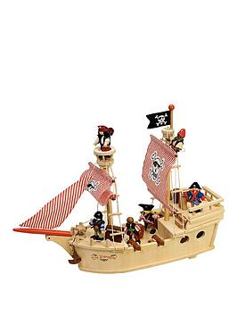 tidlo-wooden-25-piece-paragon-pirate-ship