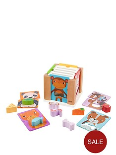 tidlo-wooden-animal-sorting-cube