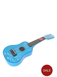 tidlo-wooden-guitar-blue