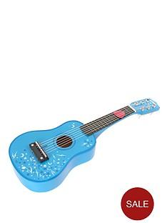 tidlo-wooden-guitar-blue