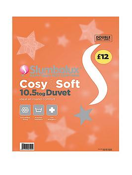 Slumbalux Cosy and Soft 10.5 Tog Duvet