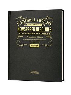 personalised-football-newspaper-a3-book-embossed-black-leather-cover