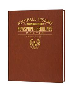 personalised-football-newspaper-a3-book-with-optional-personalisation-scottish-teams