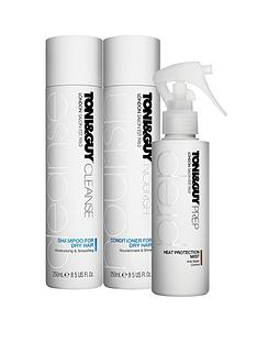 toniguy-cleanse-and-nourish-dry-trio