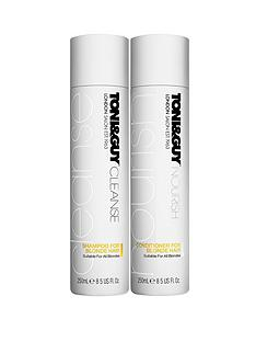 toniguy-cleanse-and-nourish-blonde-duo