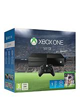 500Gb Console with FIFA 16, FREE Rise of the Tomb Raider and Optional 12 Months Xbox Live and/or Extra Official Controller