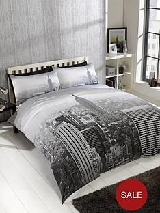 cascade-home-modern-city-single-duvet-set-grey