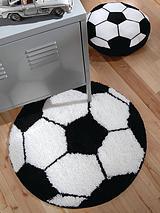 Football Rug 66 x 66 cm