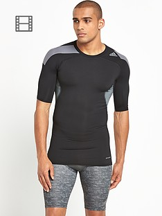 adidas-mens-techfit-cool-short-sleeved-top