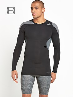 adidas-mens-techfit-cool-long-sleeved-top