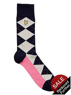 lyle-scott-mens-argyle-socks