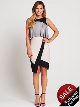 samantha-faiers-frill-asymmetric-dress