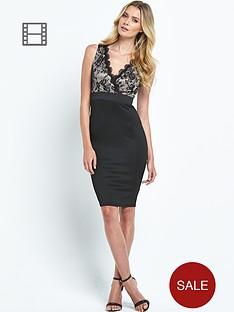 ax-paris-lace-wrap-2-in-1-dress