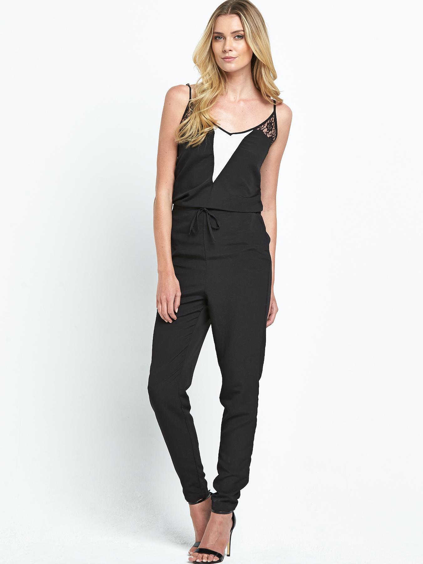 Vila Raun Jumpsuit - Black, Black