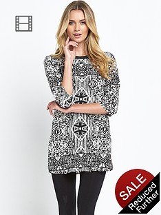 vero-moda-leona-printed-shift-tunic