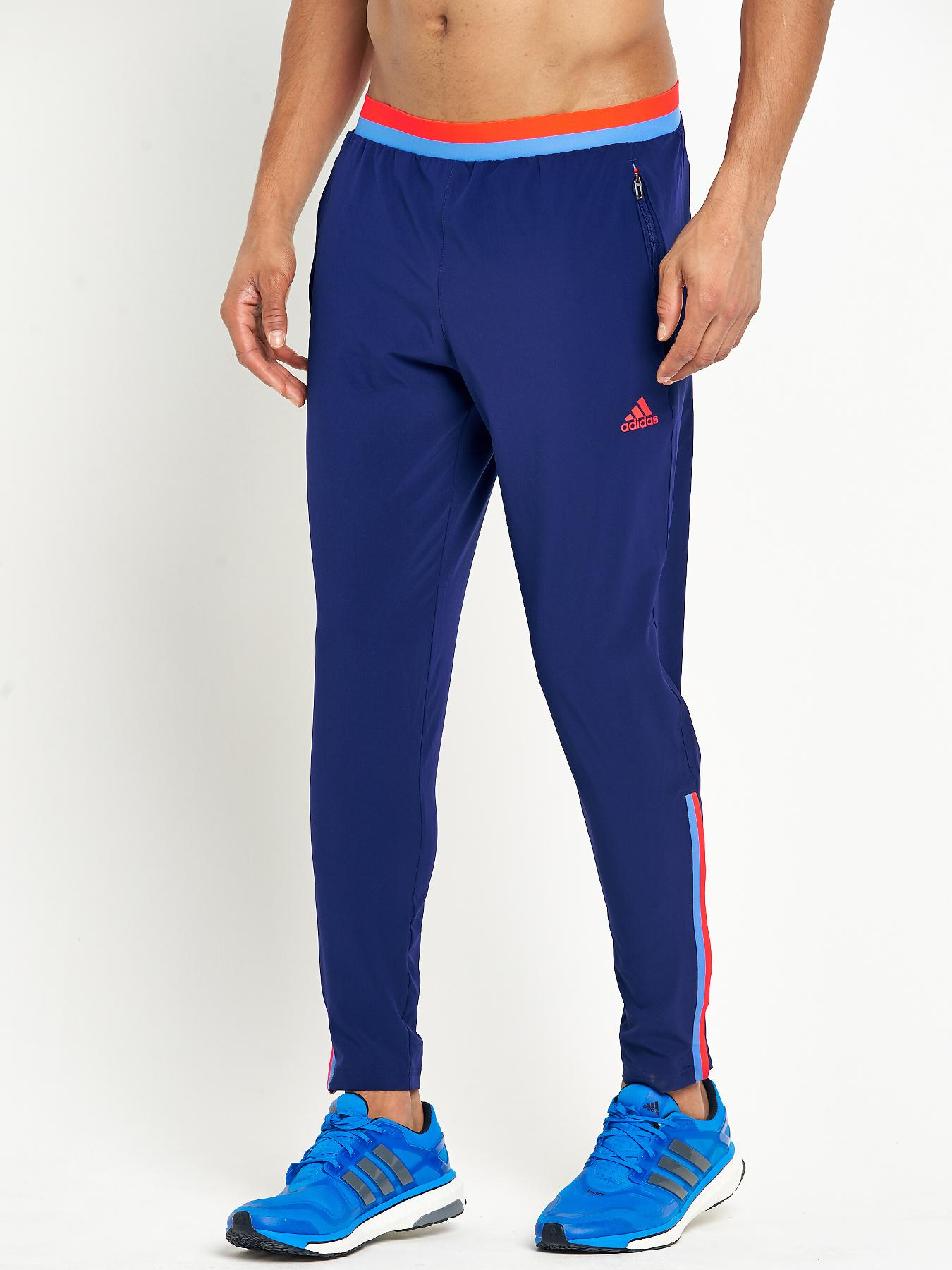 adidas Mens X Silo AZ Training Pants - Navy, Navy