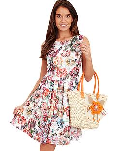 joe-browns-lace-floral-print-skater-dress