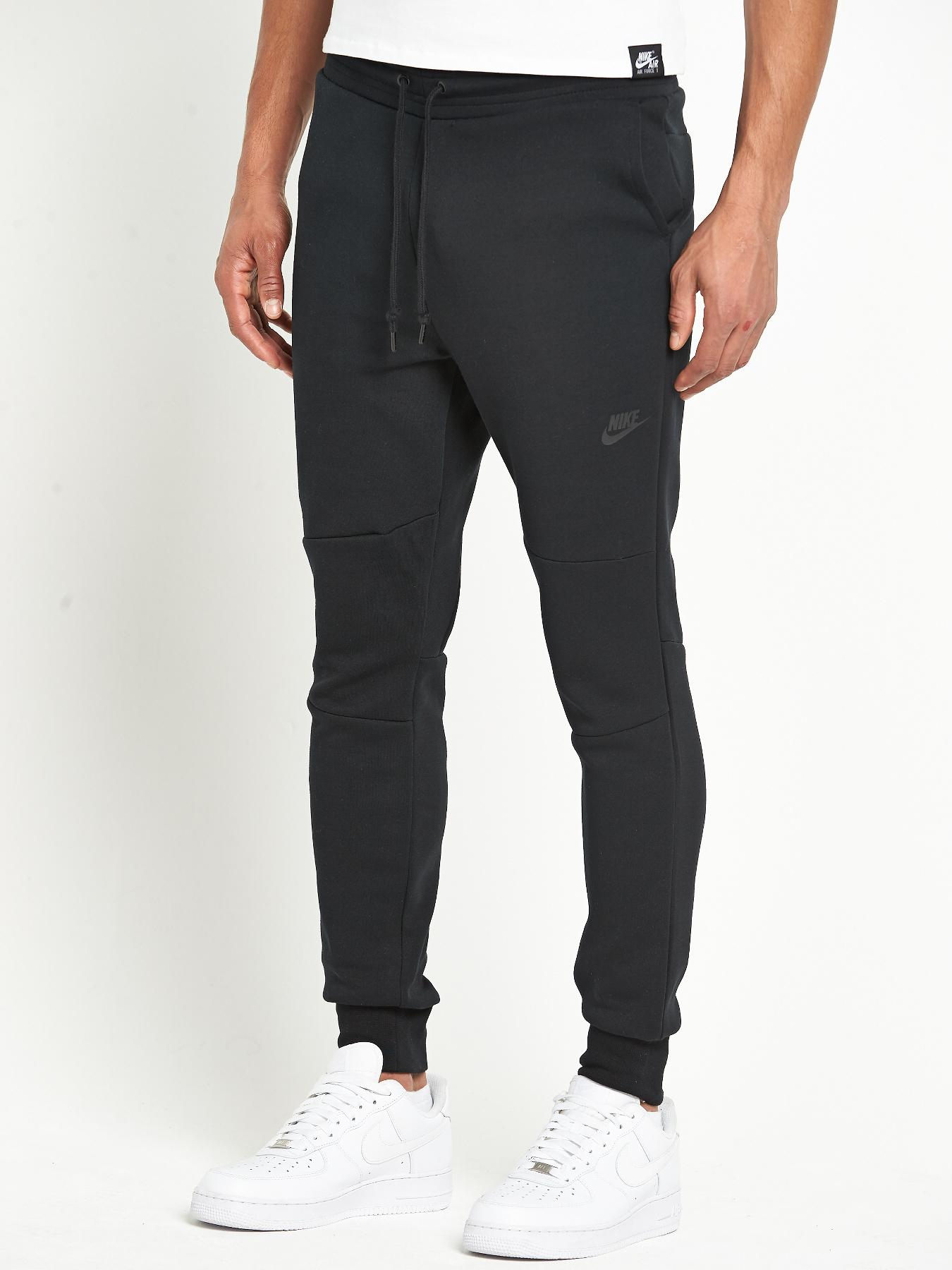 Nike Mens Tech Fleece Pants - Black, Black